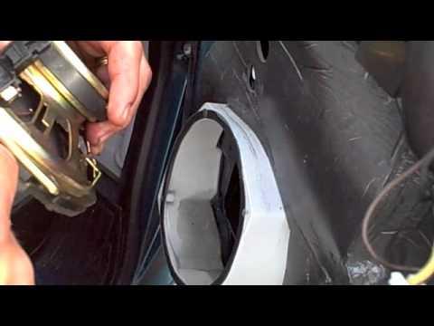 How to replace door speakers on a astrovan