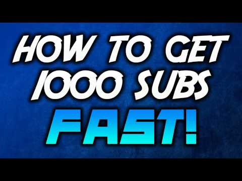 How to get 1000 subscribers in one day  Works 100 percent! 100 percent legal!