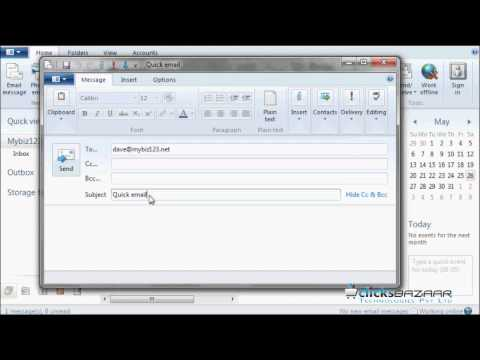 How to setup your email signature in Windows Live Mail