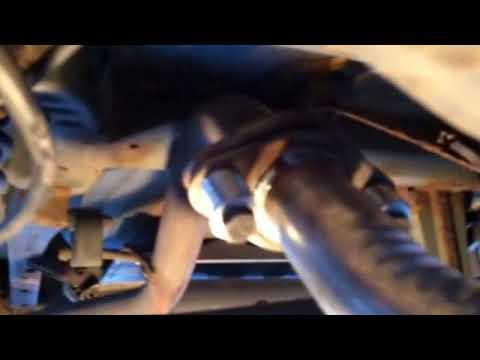 Pontiac vibe matrix corolla muffler resonator pipe repair