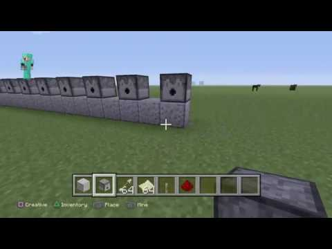 How to make a tnt cannon in minecraft ps4 ps3 edition
