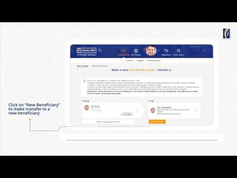 How to do DirectRemit Transfers with Emirates NBD Online Banking