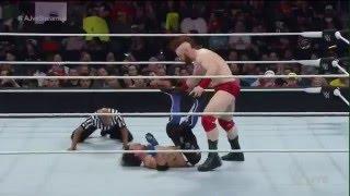 WWE Raw AJ Style vs Sheamus 4/25/2016 highlights
