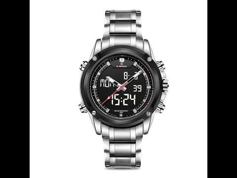 Aposon Men's Quartz and Analog Digital Watch