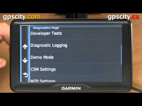 Garmin Secret Screens on the Dezl 760 LMT trucking GPS with GPS City