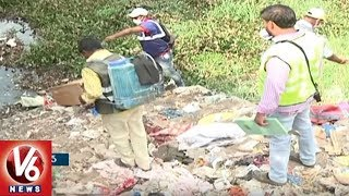 Hyderabad Residents Face Problems As GHMC Officers Busy In City Beautification For GES 2107 | V6News