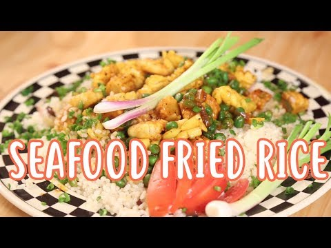 Seafood Fried Rice | Mallika Joseph FoodTube