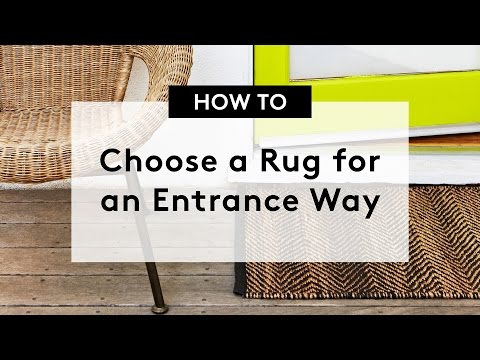 How to Choose a Rug for an Entrance Way | Entrance Runners & Entrance Mats
