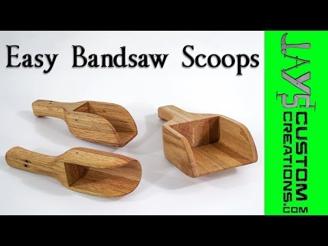 Easy Bandsaw Scoops - 146