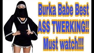 Burka Aunty Twerk Big Ass