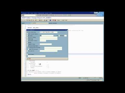 SAP ABAP SmartForms Demo for PO-Part 0
