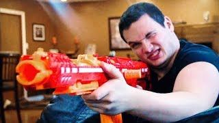 NERF WAR | Blast from the Past