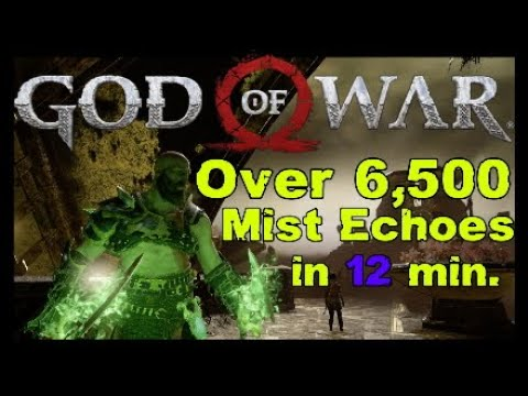 Over 6,500 Mist Echoes in 12 min GOD of WAR