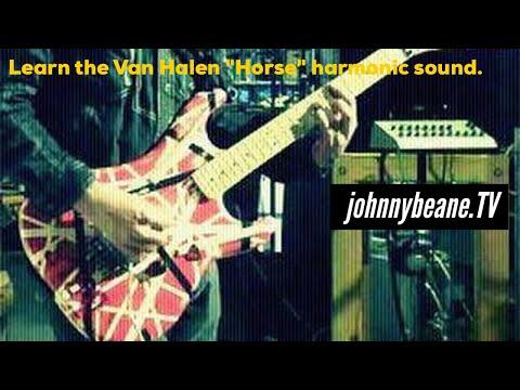 How i do the Eddie Van Halen