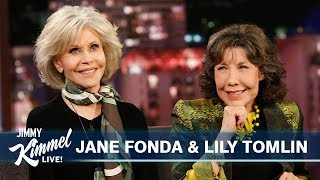 Jane Fonda & Lily Tomlin on Being Arrested & Grace and Frankie