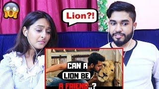 INDIANS react to When Wild Animal Becomes Friend | Azlan Shah | Vlog