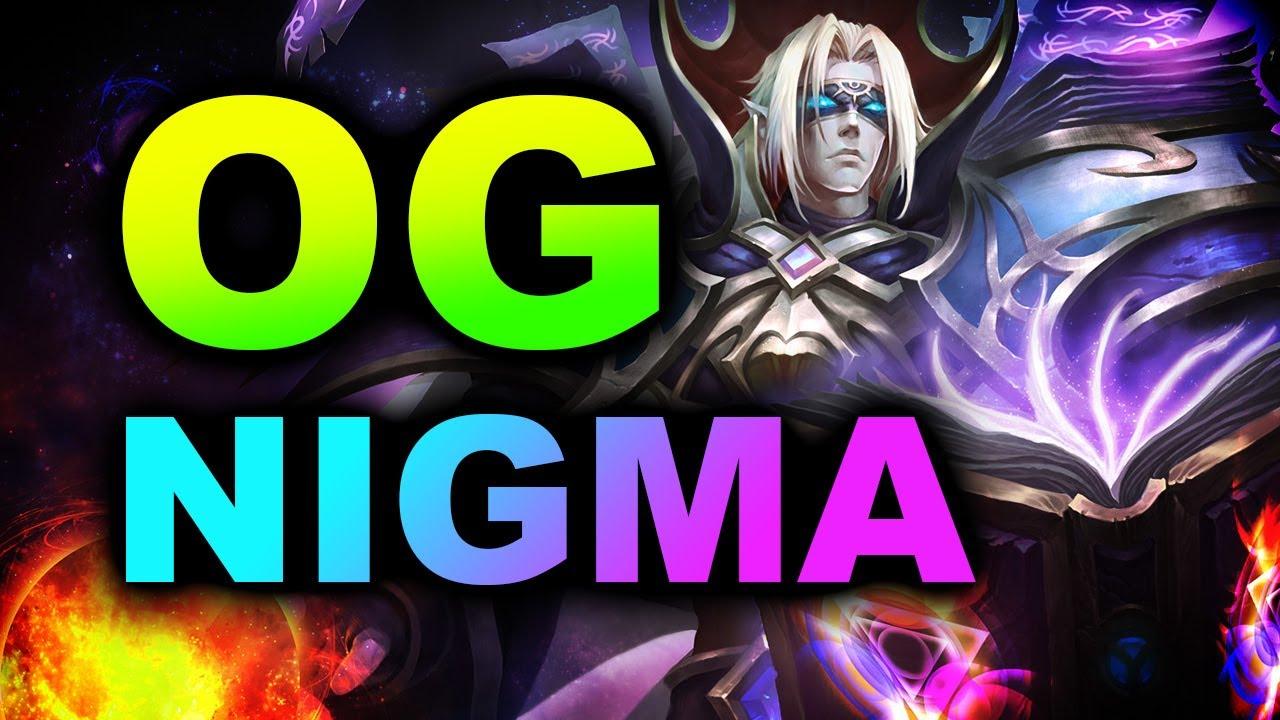 NIGMA vs OG - WHAT A GAME - EPIC LEAGUE DOTA 2