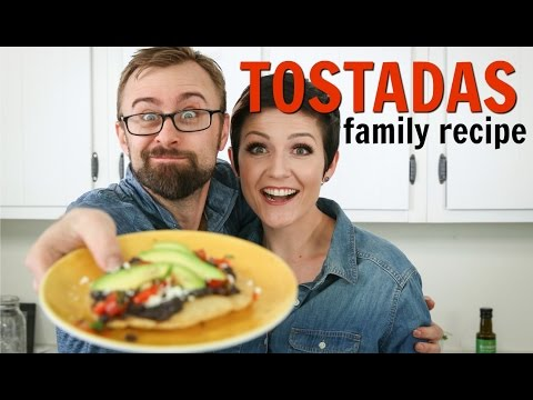 How to Make Tostadas with Corn Tortillas from Scratch