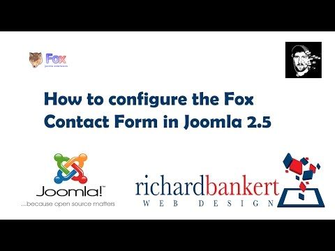 How to configure the Fox Contact Form in Joomla 2.5
