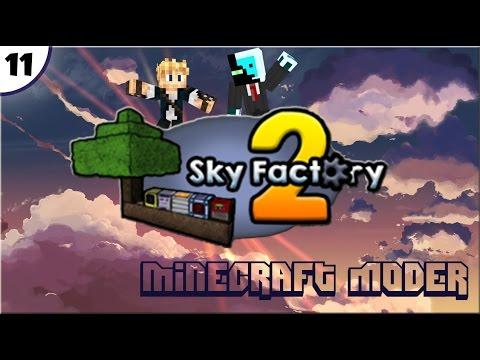 Sky Factory 2 E11 - Mega Rubber Sapling [FR]