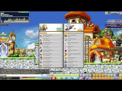MapleStory EU - How many Mesos can I make within 3 hours?