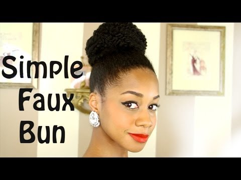 How to get the Perfect Bun Hair Tutorial