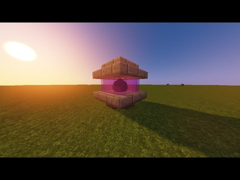 MInecraft | How to make a cool dragon egg holder | My design