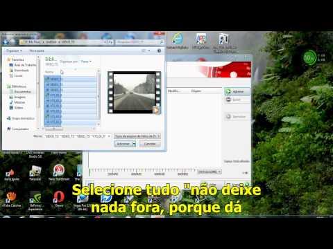 Como gravar dvd VIDEO TS pelo Nero 7