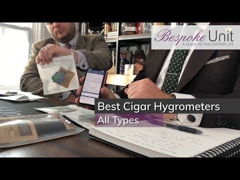 Best Cigar Hygrometers: Analogue, Digital & Smart Humidity Sensors