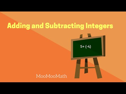 Adding and Subtracting Positive and Negative Numbers-6th Grade Math