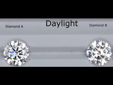 Can You Guess Which Diamond has a Better Color Grade?