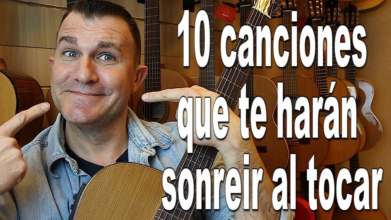 10 canciones que te sacarán una sonrisa al tocarlas