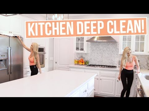 How to Deep Clean Your Kitchen! Natural + Easy