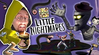 LITTLE NIGHTMARES #1!  Fortnite Ruining our Family!  Bendy