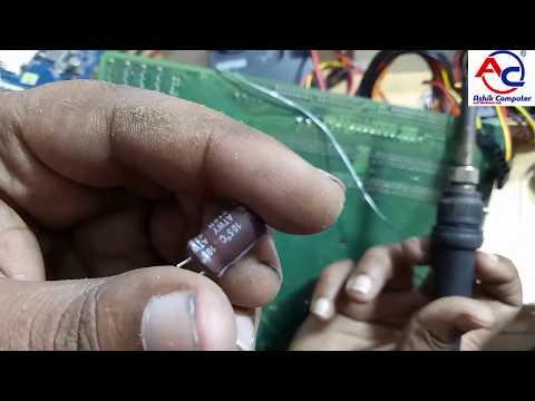 How to repair Intel Dg31PR Motherboard no power | Bangla