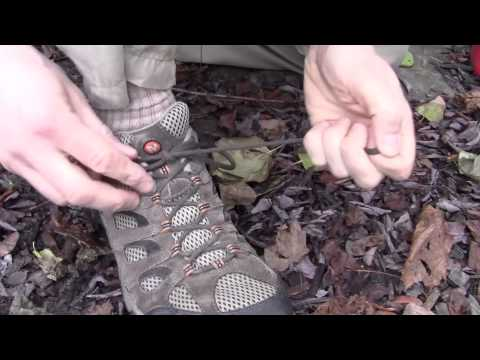 Technique to Tie Your Shoes So Fast it Looks Like a Trick!