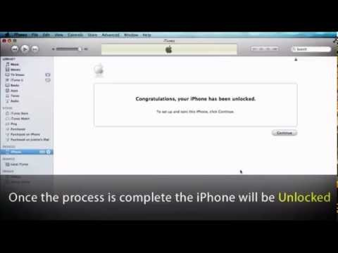 FACTORY UNLOCK YOUR iPHONE 3/4/4S/5 - FAST