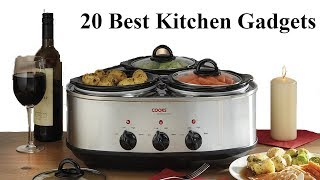 20 Best Kitchen Gadgets You Must Have || New Kitchen Gadgets (2018)