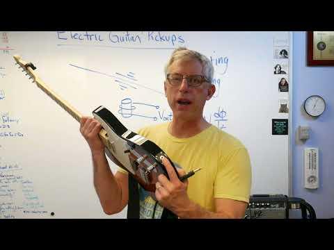 Electric Guitar Pickups - Brain Waves