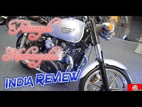 Triumph the Luxurious Imported Motorcycle Superbikes Review Hindi हिन्दी