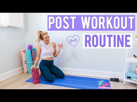 After Workout Routine | How I Get Rid of Muscle Soreness