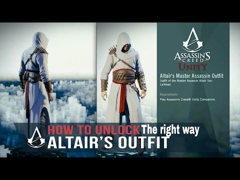 Assassin creed unity How to get Altair outfit The right way 2017