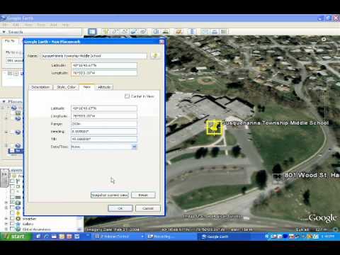 Creating .kmz Files in Google Earth