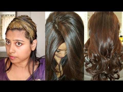 How To Colour Your Hair Chocolate Brown Naturally At Home