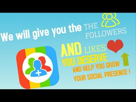 Best App to Get FREE Instagram Followers (2017) - Download Android APK or Get on iOS App Store