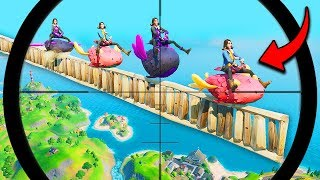 *WORLD'S LUCKIEST* SQUAD VICTORY!! (500 IQ!) - Fortnite Funny Fails and WTF Moments! #941