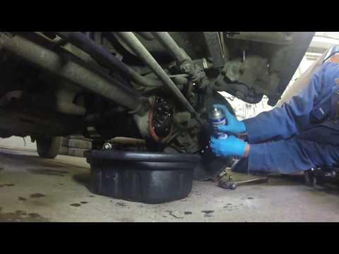 Jeep Wrangler TJ Differential Fluid Change
