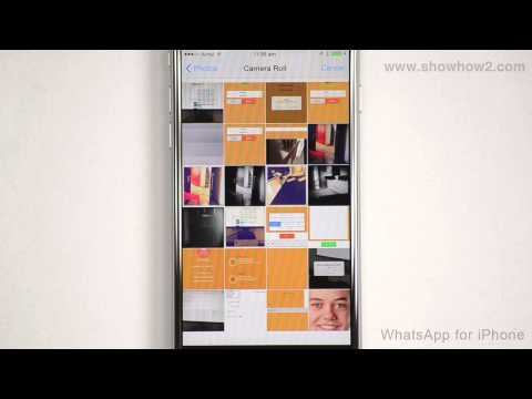 WhatsApp For iPhone - How To Add A Profile Photo