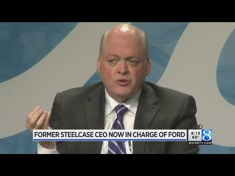 Steelcase ex-CEO Jim Hackett to lead Ford