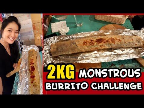 2KG BURRITO CHALLENGE